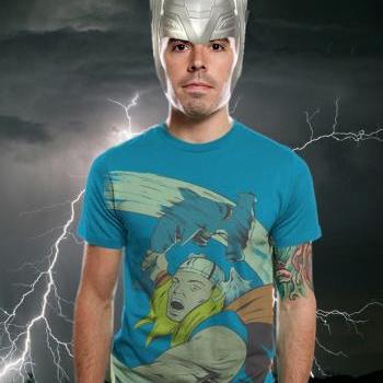 Thor, Shark, Hammer Time, Available S M L XL 2XL 100% Cotton